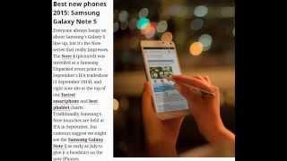 Лучшие телефоны 2015 года Top 15 smartphones Eng(Лучшие смартфоны 2015 года Apple iPhone 7, iPhone 6S Plus, Xiaomi Mi Note and Xiaomi Mi Note Pro, Xiaomi Mi 4i, Tesco Hudl smartphone, Sony Xperia ..., 2015-07-08T13:42:58.000Z)