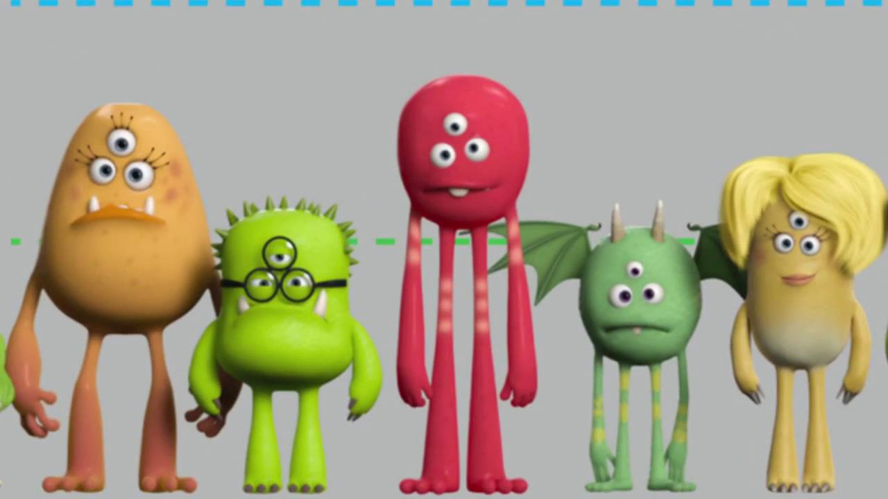 Monsters University Character Design And Animation Youtube