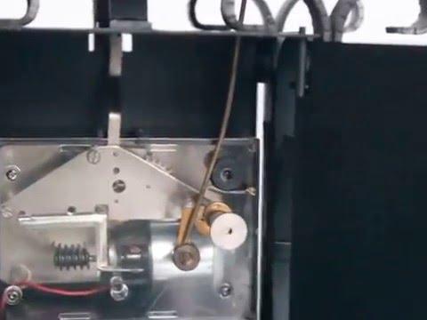 KONRAD BIHL Mantel TOP Clock Vintage RARE Bell Chime Germany Shelf Cast Iron