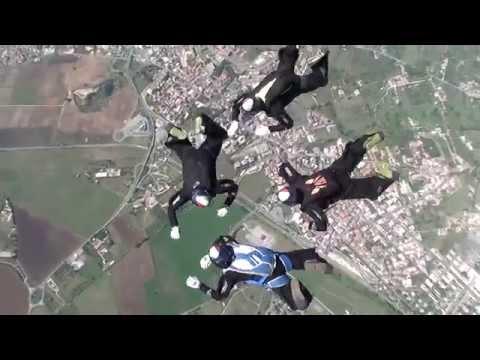 Sport Estreni - Acrobazie Col Paracadute Parashow 2015 GoPro Video