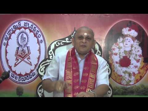 """Upadesa Saram"" Of Bhagavan Sri Ramana Maharshi : Day 01 :Introduction : Sri Chalapathirao"