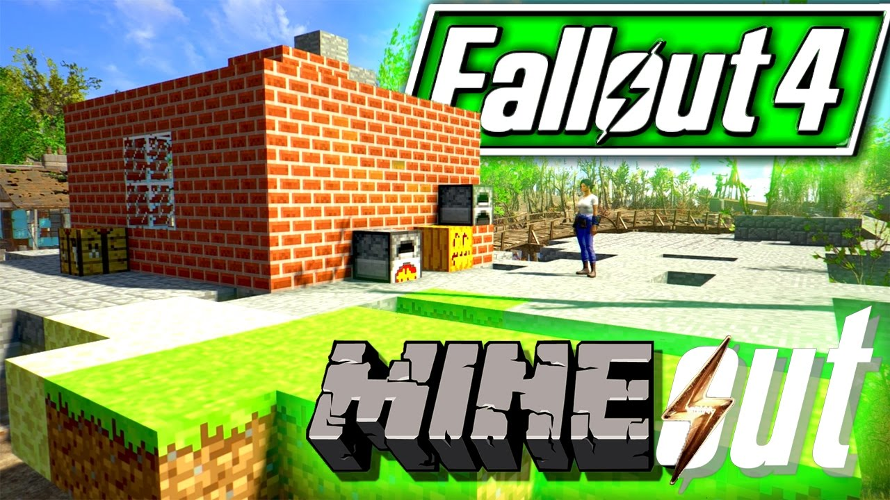 Mineout Fallout 4 Minecraft Mod Build Your Own Minecraft World
