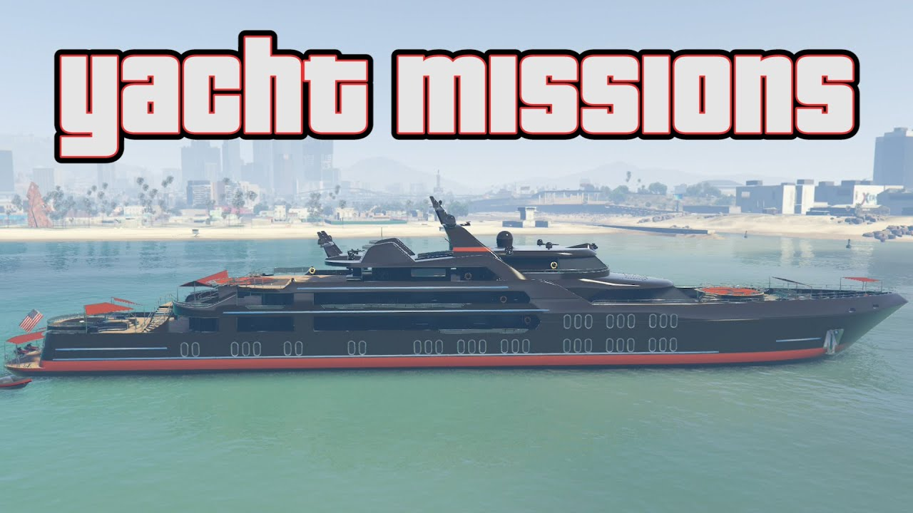 Gta 5 Summer Dlc New Yacht Missions Youtube
