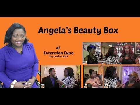 Angela's Beauty Box at Extensions Expo Part 1