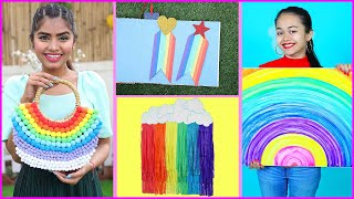 5 Easy & Affordable Rainbow DIY For Instagram Ready Room | DIYQueen