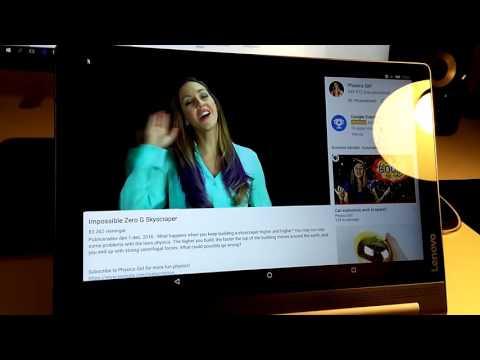 Lenovo Yoga Tab 3 Plus Audio Sync Problem - YouTube