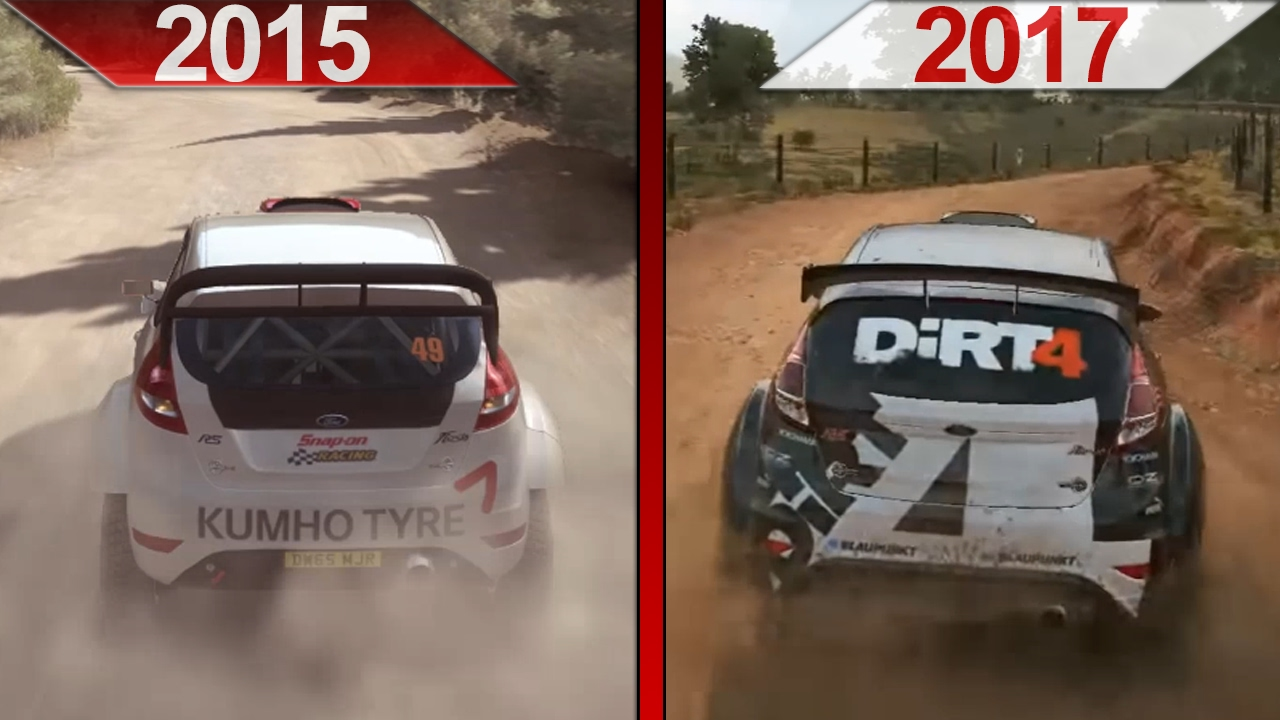 sbs comparison dirt rally 2015 vs dirt 4 early. Black Bedroom Furniture Sets. Home Design Ideas