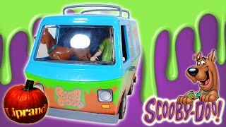 CHARACTER OPTIONS SCOOBY DOO! - MYSTERY MACHINE GHOST PATROL ACTION FIGURE E FURGONE REVIEW (ita)