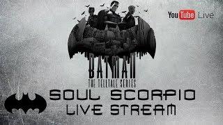 Batman: The Telltale Series Livestream (HD 1080p)