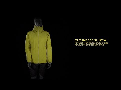 OUTLINE 360 3L JKT W | Salomon Outdoor
