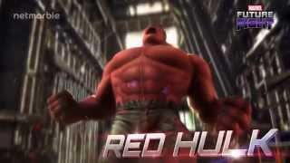 Marvel Future Fight: Red Hulk Spotlight