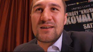 SERGEY KOVALEV Talks JEAN PASCAL Fight...Wants Adonis Stevenson NEXT!!!