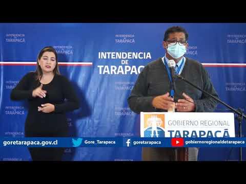 Punto de prensa 07 de agosto de 2020 - Gobierno Regional de Tarapacá
