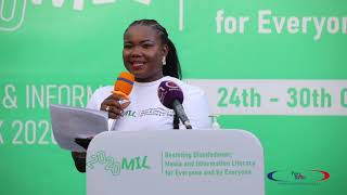The Launch of the Global MIL Week in Ghana