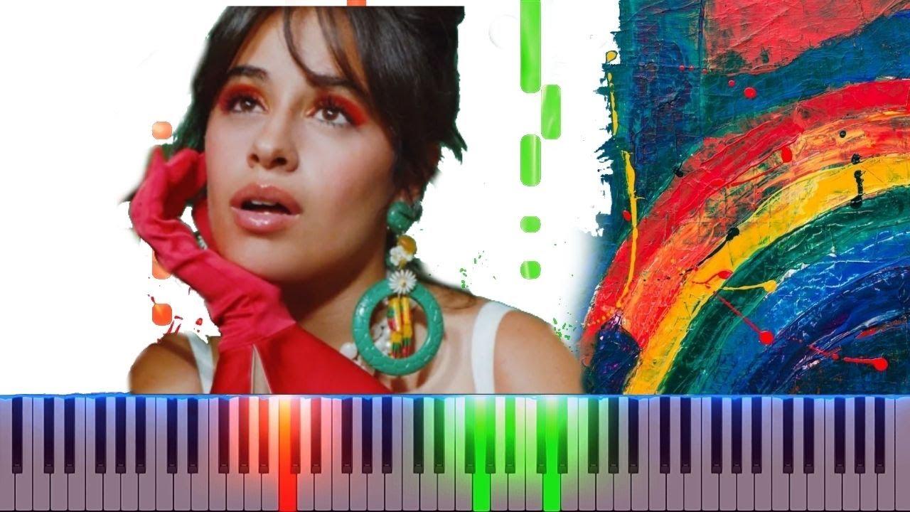 Camila Cabello  Dont Go Yet  Piano Cover Midi tutorial Sheet app  Karaoke