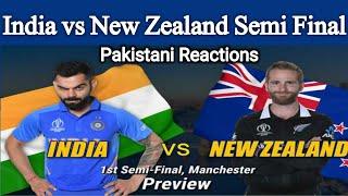 India vs New Zealand World Cup Semi Final   Pakistani Reactions