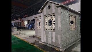 3D printed concrete home,3D Printed concrete house ,concrete 3d pringting,太空灰3D建筑打印,3D 房屋打印
