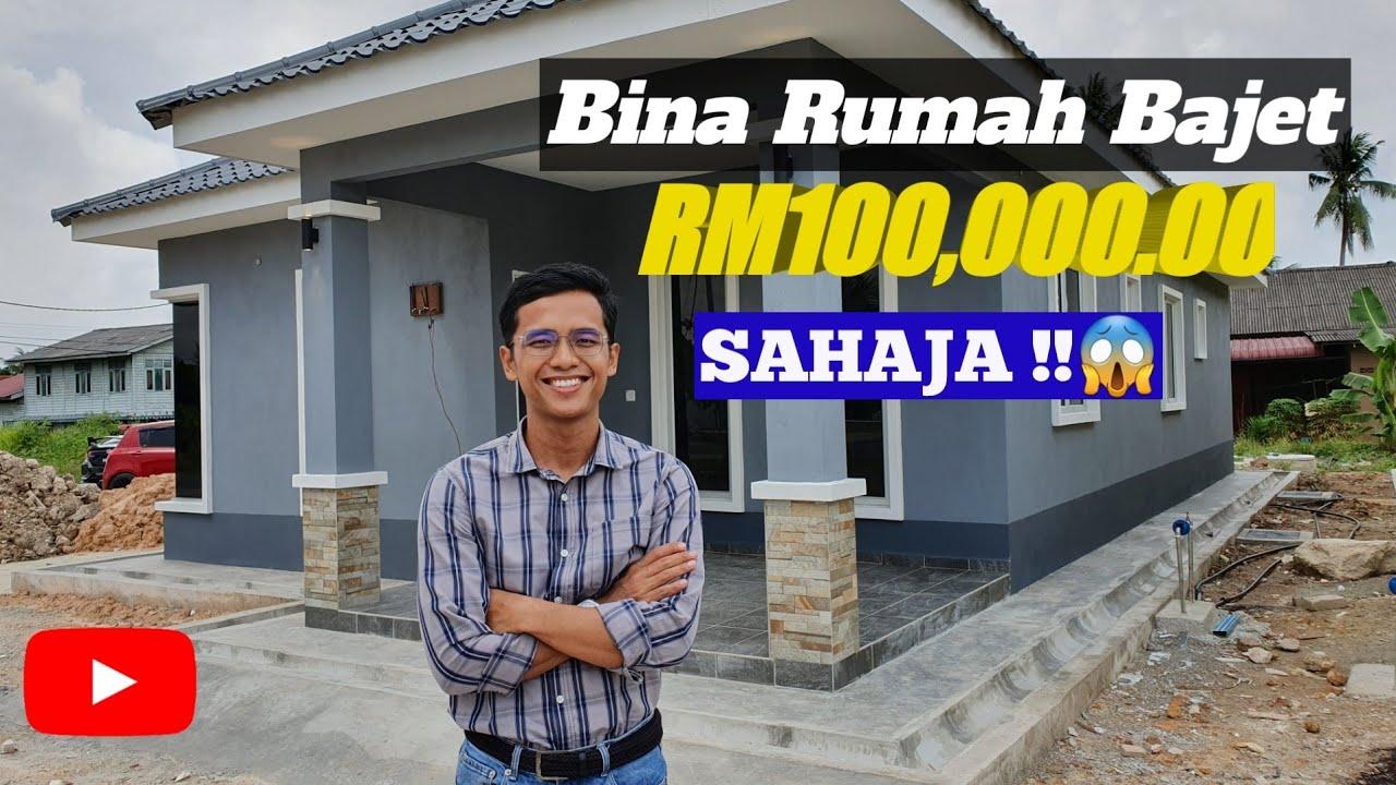 Bina Rumah Dengan Bajet Rm100k Sahaja Kontraktor Rumah Selangor Youtube