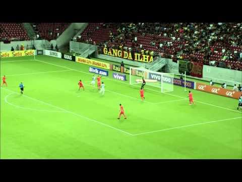 Sport 3 x 1 Santos - Serie A 2014 | HD