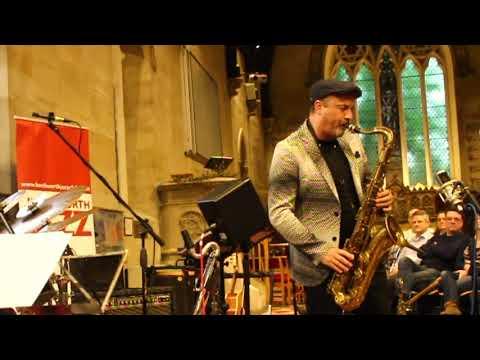 Tim Garland Kenilworth Church sax solo
