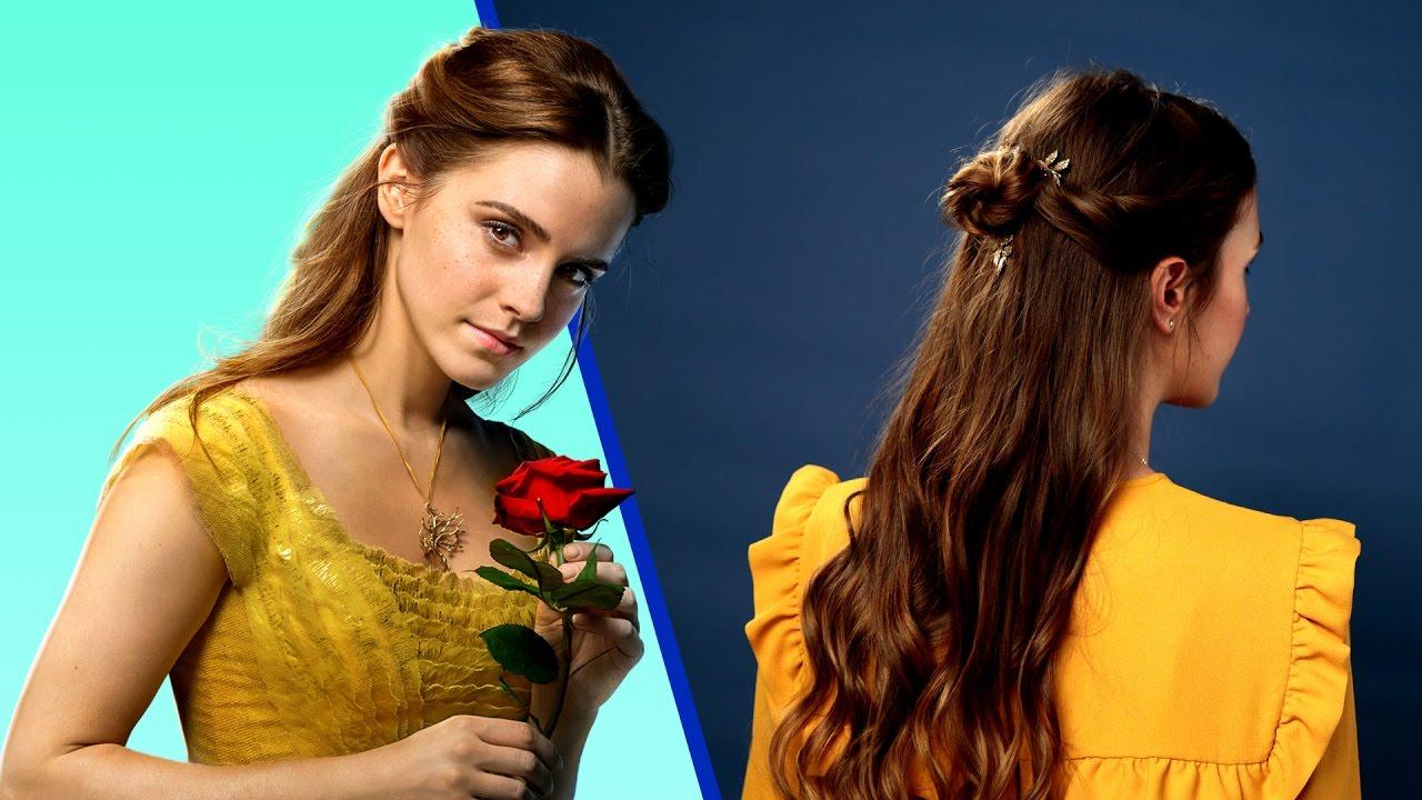 Beauty And The Beast Hair Tutorial Disney Style