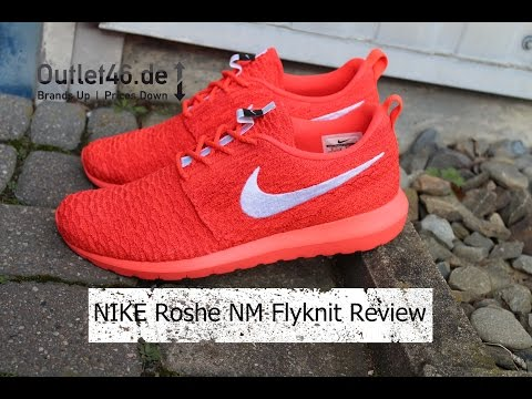 NIKE Roshe NM Flyknit DEUTSCH l Review l On Feet l Haul l Overview l Outlet46