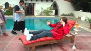 Andy Milonakis goes to Hollywood + sick Ralphie Freestyle