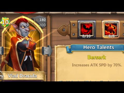 Rolling 50000 Gems For Lady Leo Trying To Fix Talents Castle Clash