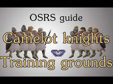 [OSRS] Camelot knight wave training room guide