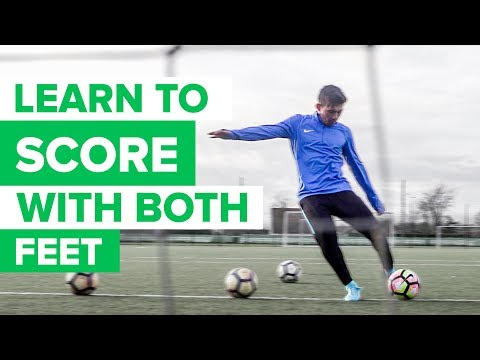 HOW TO IMPROVE YOUR WEAK FOOT | Learn to shoot with both feet