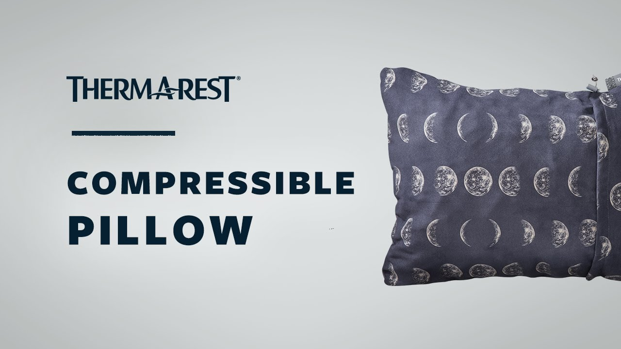 Denim One Size Thermarest Compressible Unisex Adventure Gear Pillow