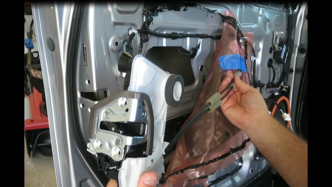 2014 19 Toyota Highlander Power Door Lock Actuator Replacement Youtube