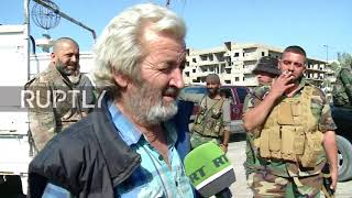 Syria: Al-Mayadeen in ruins as locals speak of the horror of living with Islamic State
