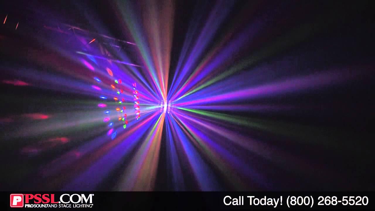 solena mini derby dmx led effect light by pssl