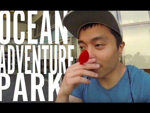 Ocean Adventure Park! Manila Philippines VLOG   VT#2