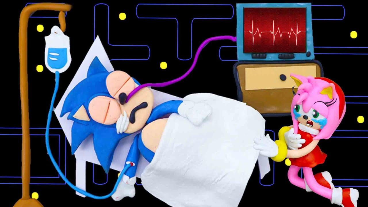 Download Amy don't cry! Sonic will come back home   Pacman Stop Motion Game