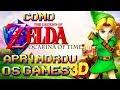 Como The Legend Of Zelda Ocarina Of Time Aprimorou os Games 3D !