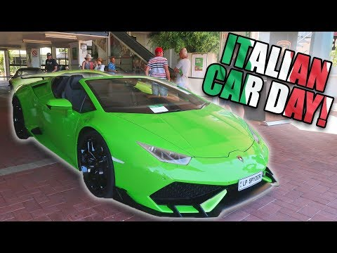Supercars Of Australia! Perth Italian Car Show
