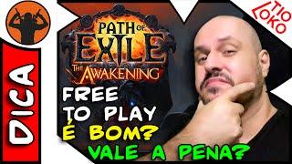 Free to Play Path of Exile em Português. É Bom ? Vale a Pena Jogar?