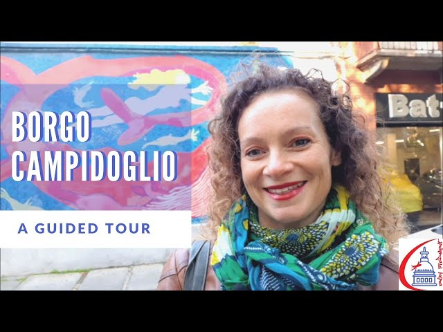 Borgo Campidoglio Turin - Museum of Urban Art - A Guided Tour