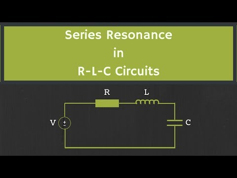 Series Resonance In RLC Circuit