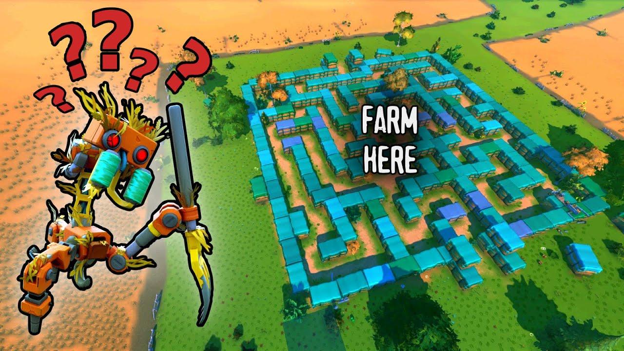Download Can Farm Bots Solve a MAZE ?? // Scrap Busters #2