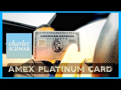 Charles Schwab Platinum American Express Card