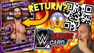 SUPERTOKEN QR CODES RETURN?! PLUS SOME PACKS! Noology WWE SuperCard Season 5!