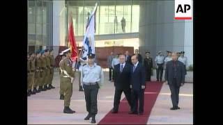 Israeli and Turkish Defence ministers hold talks