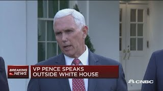 Pence: Trump told Erdogan he wanted immediate end to Turkish incursion into Syria