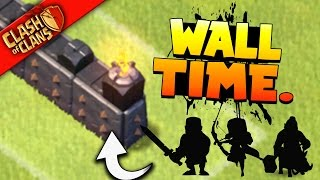 "Clash of Clans: ""WALL SQUAD IS BACK.. LETS FARM!"" MY FAVORITE FAST FARMING ARMY!"