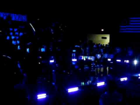 Chapel hill H.S. Tyler, TX Drumline performance at Blackout
