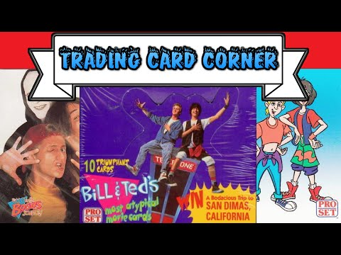 Trading Card Corner | Bill & Ted's Most Atypical Movie Cards (Pro Set 1991)