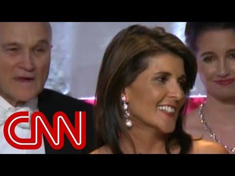 Nikki Haley Jokes About Trump, Elizabeth Warren